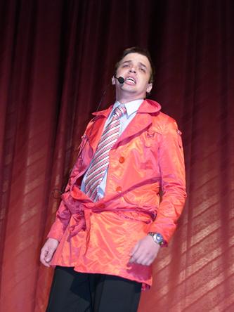 Сергей Смирнов. Лауреат студенческой весны - 2009